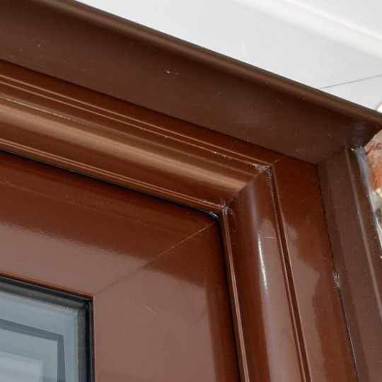 Coloured double glazing