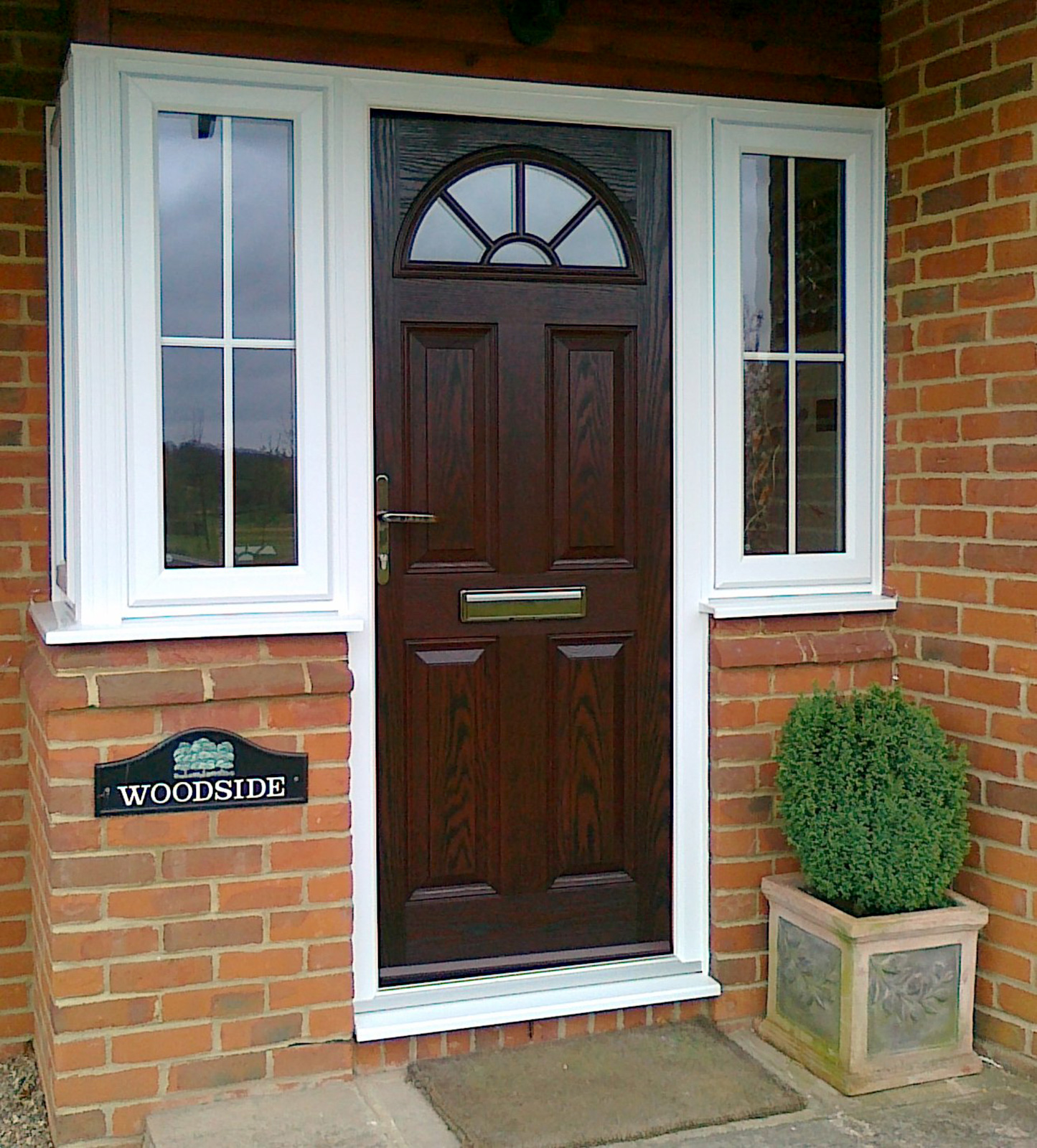 brown composite doors Sutton