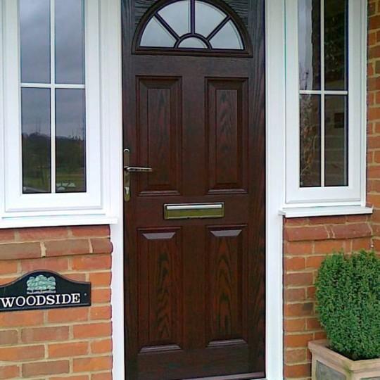 Front doors composite