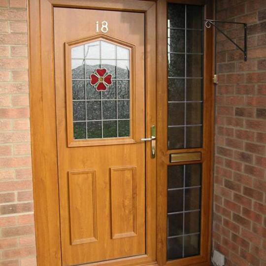Glazing for doors