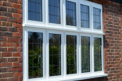 aluminium windows fitted to a house in sutton