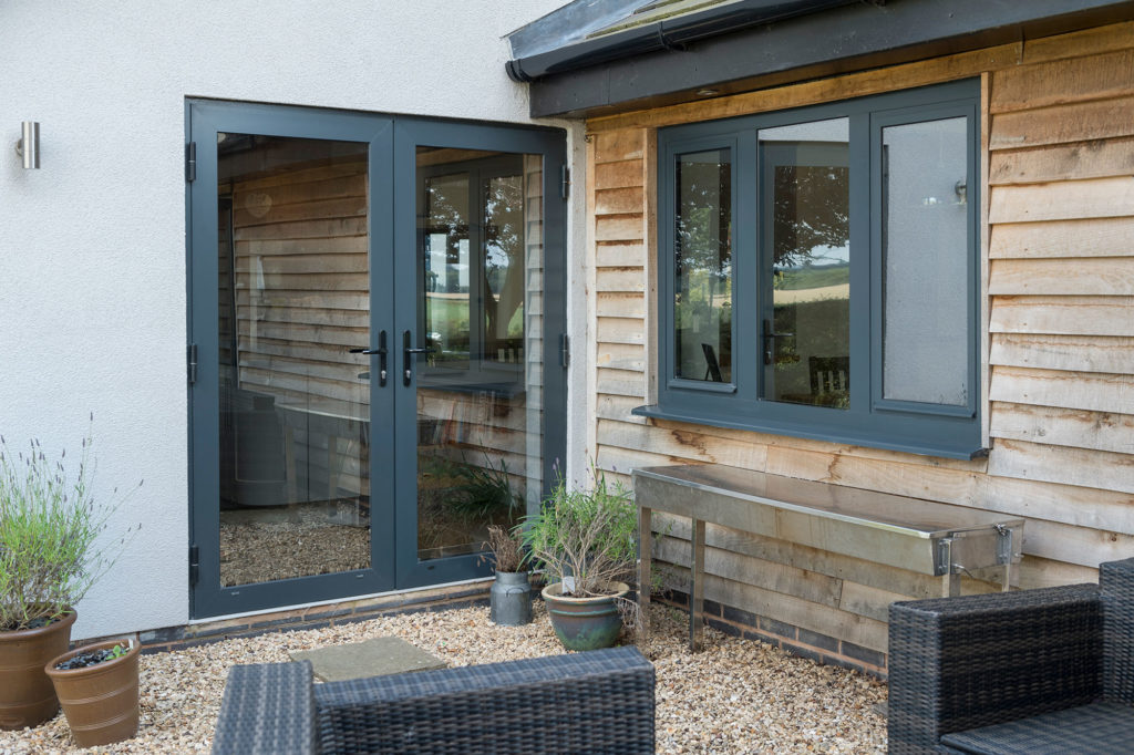 contemporary windows sutton home