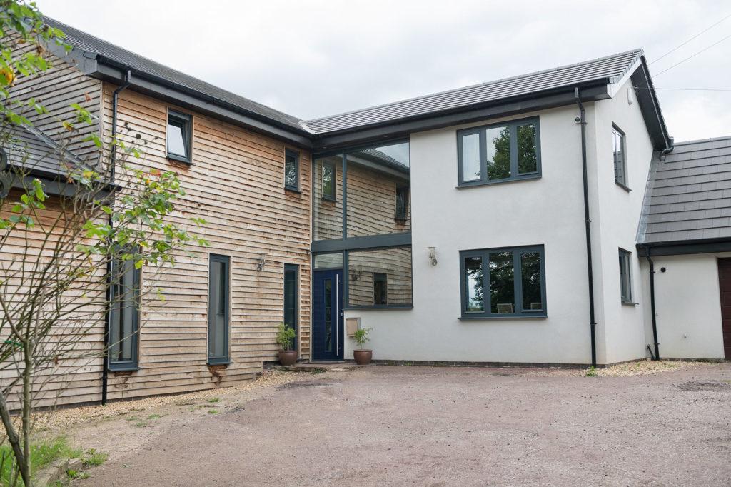 contemporary windows sutton house