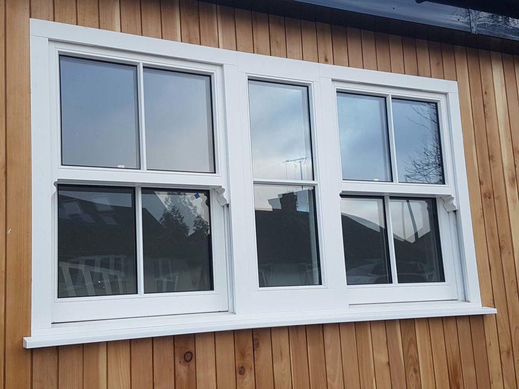 contemporary windows sutton white