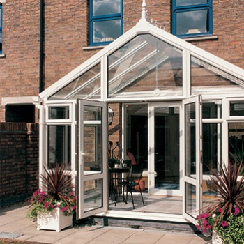 Gable-ended conservatory